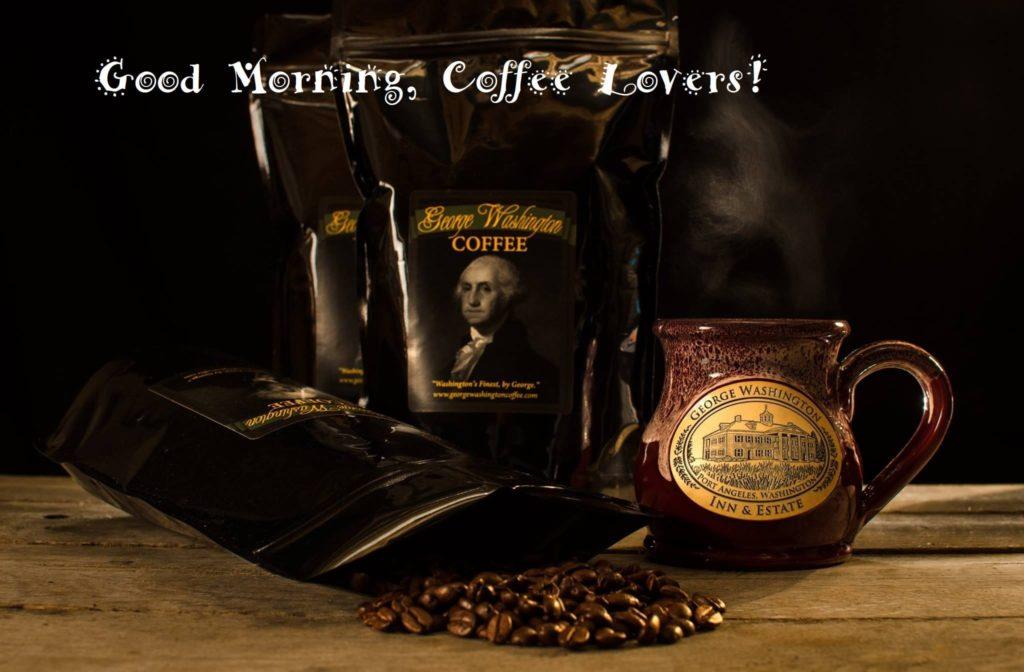 George Washington Coffee is roasted fresh at George Washington Inn