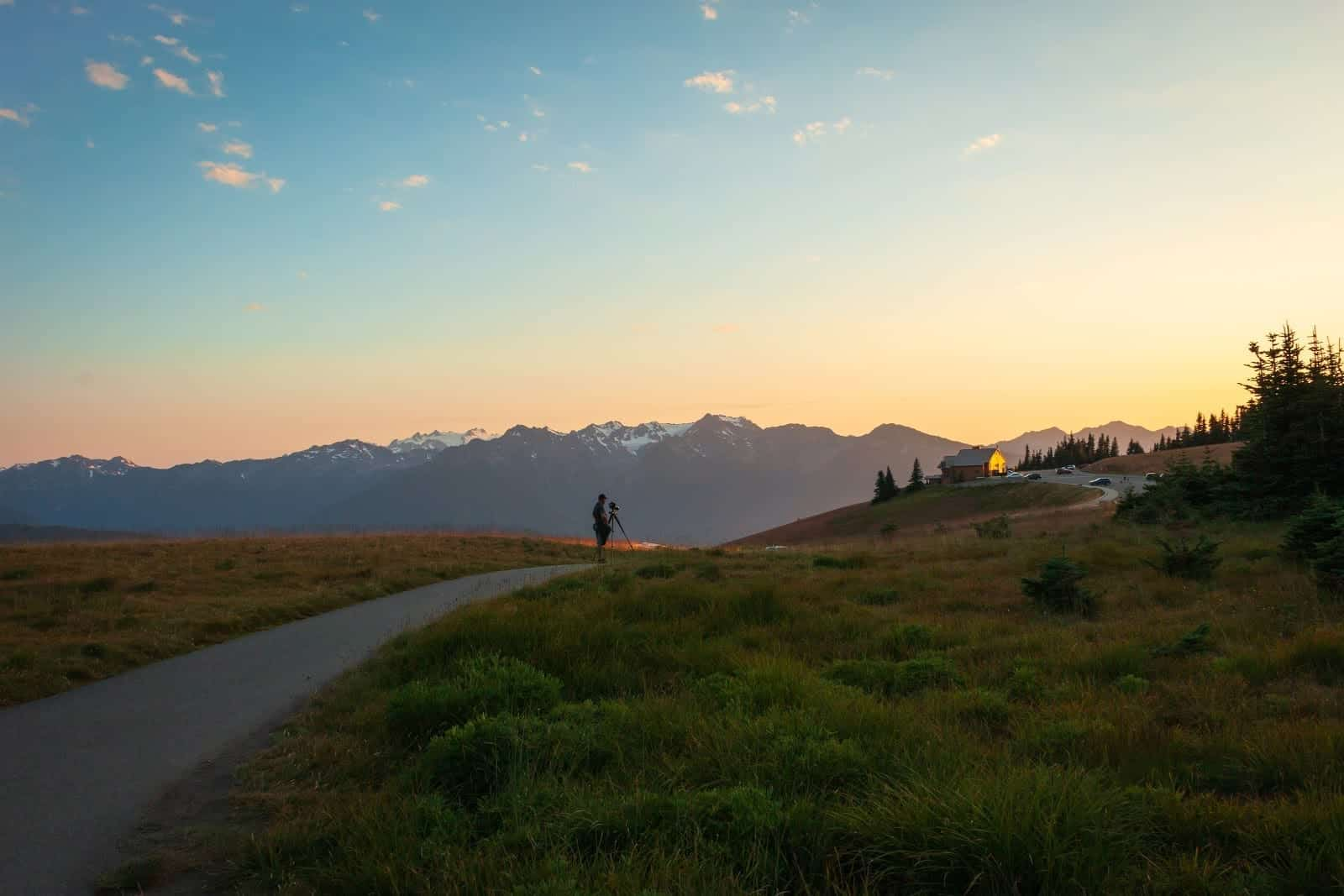 Where to Catch the Best Sunsets in Port Angeles, George Washington Inn